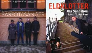 Das Plakat zur Barfußlieder-Aufführung im Januar 2015 von Mikael Karlsson.